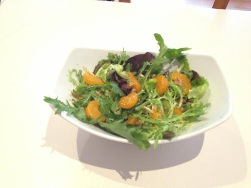mandarinwalnut salad